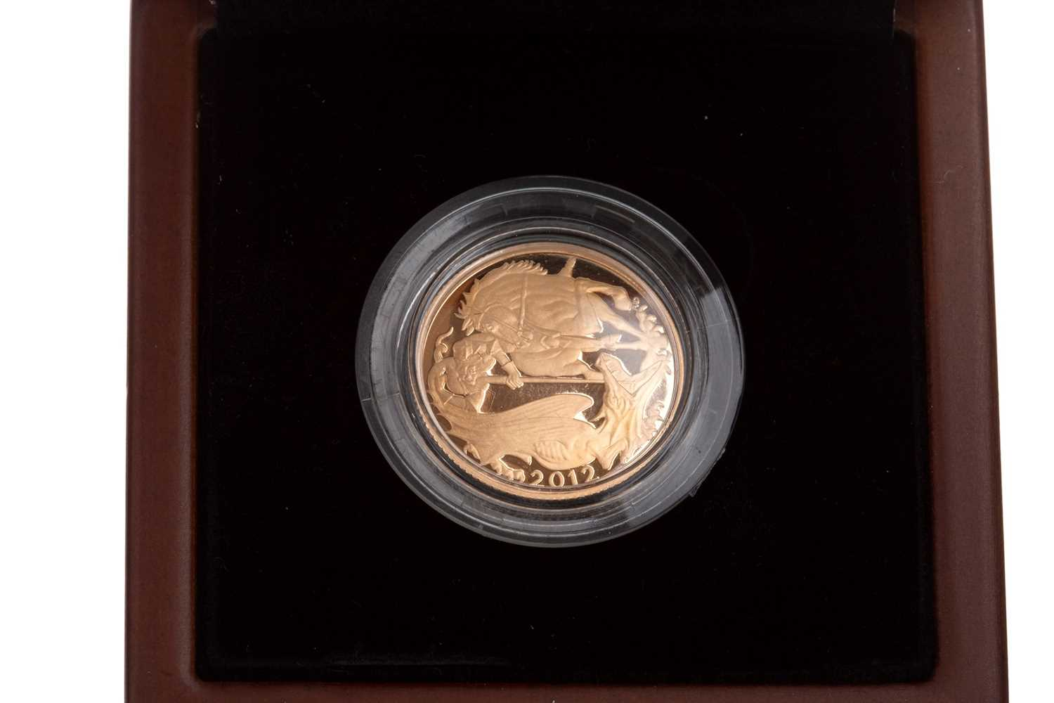 Lot 17-A THE ROYAL MINT 2012 SOVEREIGN