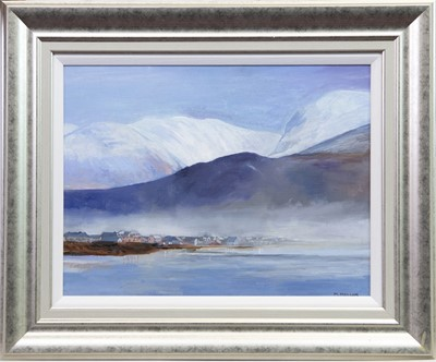 Lot 21-CAOL AND BEN NEVIS, AN OIL BY MARGARET MALLOCH