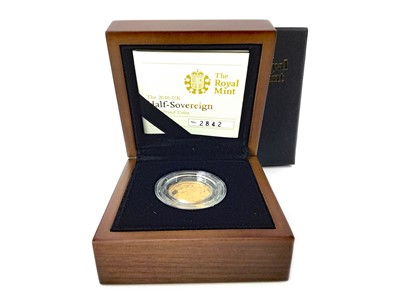 Lot 18-A THE ROYAL MINT THE 2010 HALF SOVEREIGN