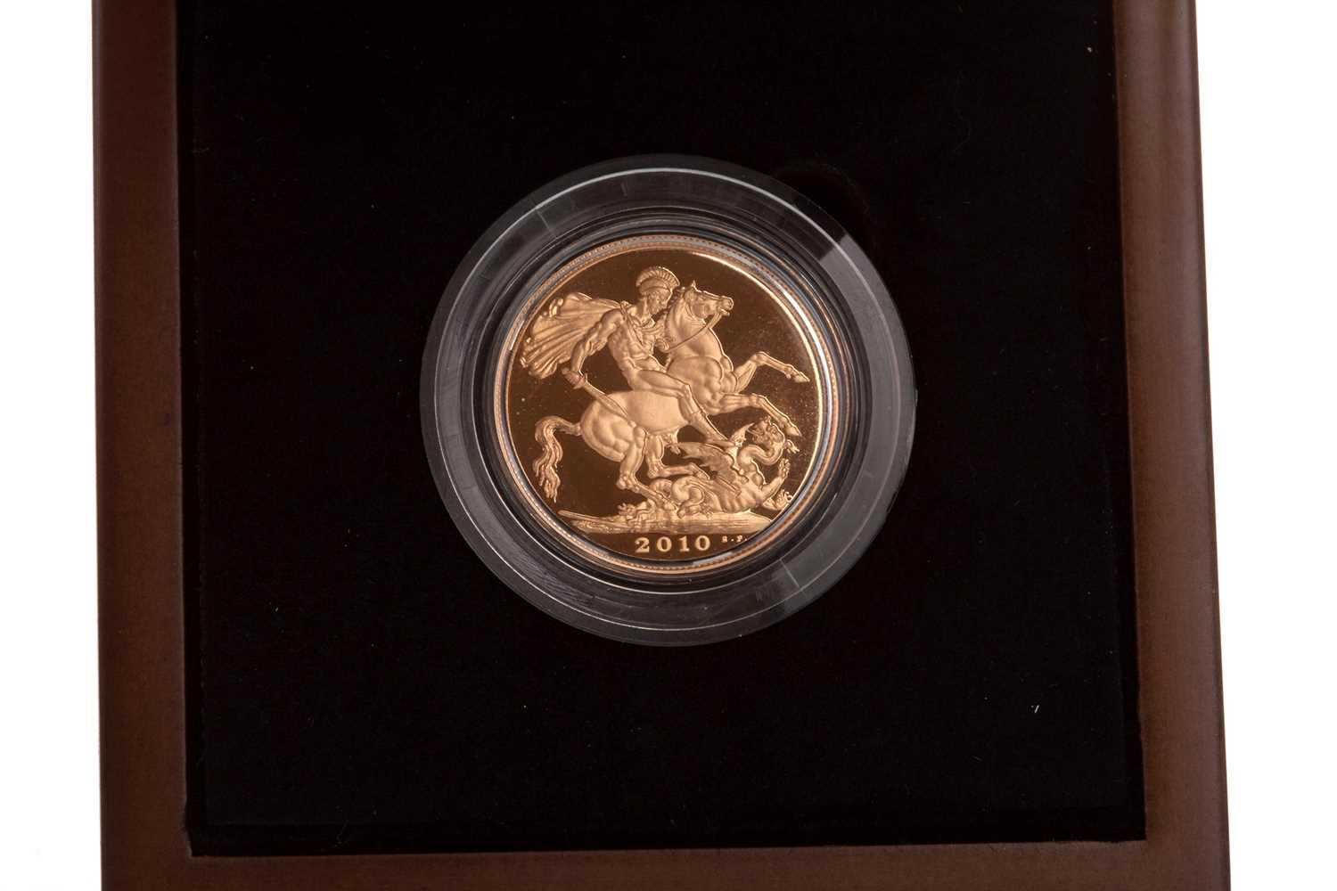 Lot 22-A THE ROYAL MINT SOVEREIGN, 2010
