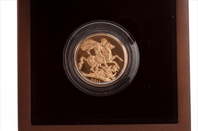 Lot 23-A THE ROYAL MINT SOVEREIGN, 2011