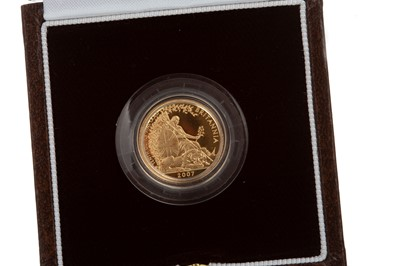Lot 24-A THE ROYAL MINT 2007 GOLD COIN