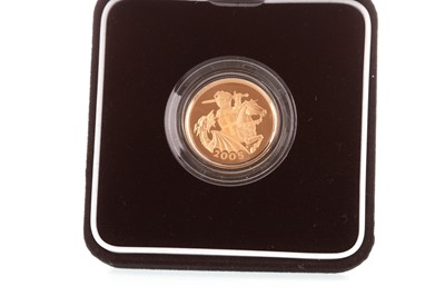 Lot 29-A THE ROYAL MINT GOLD PROOF SOVEREIGN, 2005
