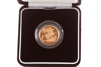 Lot 30-A THE ROYAL MINT GOLD PROOF SOVEREIGN, 2007