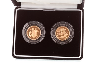 Lot 31-A THE ROYAL MINT GOLD COIN SET