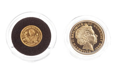 Lot 32-TWO GOLD COINS