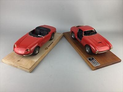 Lot 27-A LOT OF FIVE MODEL CARS