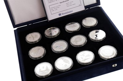 Lot 37-A WESTMINSTER SILVER COIN SET
