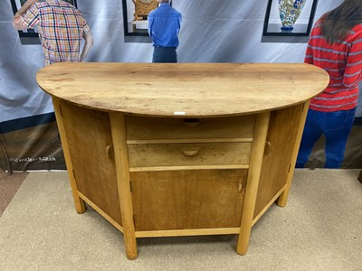 Lot 1610-A MODERNIST DINING TABLE AND SIDEBOARD