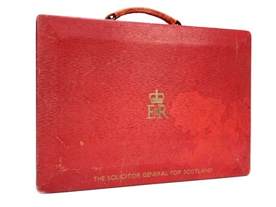 Lot 1611-AN OFFICIAL SOLICITOR GENERAL FOR SCOTLAND RED CASE