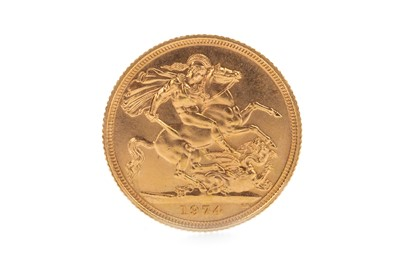 Lot 49-A GOLD SOVEREIGN, 1974