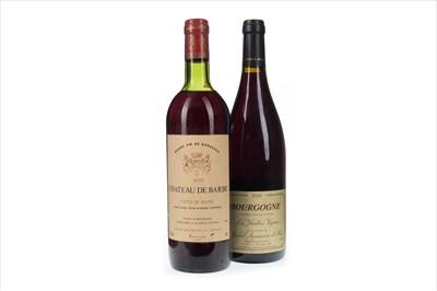 Lot 1036-CHATEAU DE BARBE 1979 AND LES VIEILLES VIGNES 2004