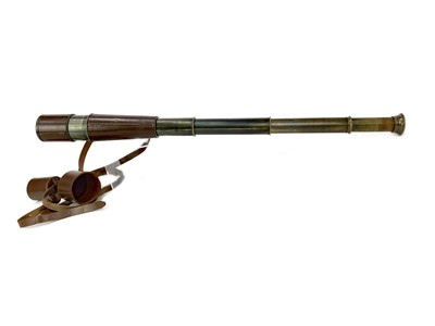 Lot 1115-A MID-20TH CENTURY TELESCOPE BY BROADHURST, CLARKSON & CO.