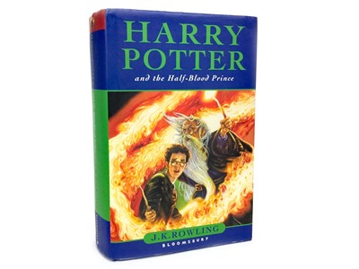 Lot 1618-A FIRST EDITION COPY OF HARRY POTTER AND THE HALF BLOOD PRINCE