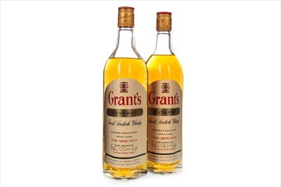 Lot 407-TWO BOTTLES OF GRANT'S STAND FAST