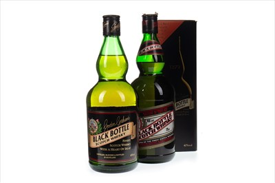 Lot 408-TWO BOTTLES OF BLACK BOTTLE