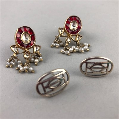 Lot 14-A LOT OF SILVER AND OTHER EARRINGS