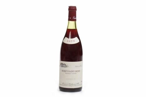 Lot 1412-MOREY SAINT DENIS 1978 Francois Protheau A.C....