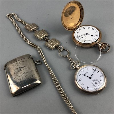 Lot 4-A LOT OF WATCHES, JEWELLERY AND DESK ACCESSORIES