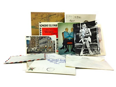 Lot 1623-A COLLECTION OF AUTOGRAPHED EPHEMERA