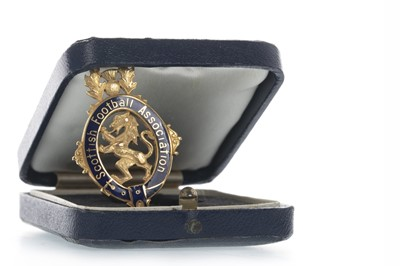 Lot 1709 - JIM BAXTER OF RANGERS F.C. - HIS SCOTTISH CUP WINNERS MEDAL 1962/63