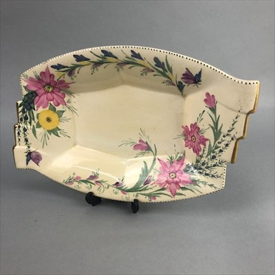 Lot 2-A HAND PAINTED DISH BY MAY WILSON