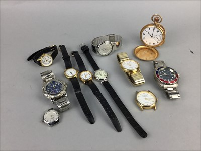 Lot 23-A LOT OF WATCHES AND PEARLS