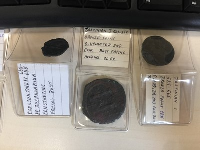 Lot 4-A COLLECTION OF ANCIENT ROMAN COINS