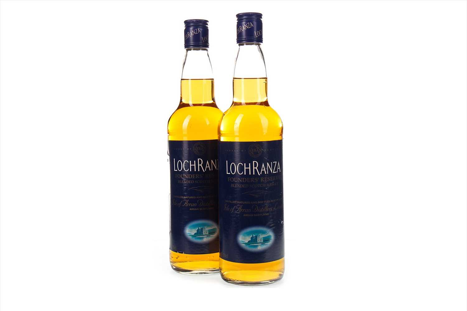 Lot 413-TWO BOTTLES OF LOCHRANZA