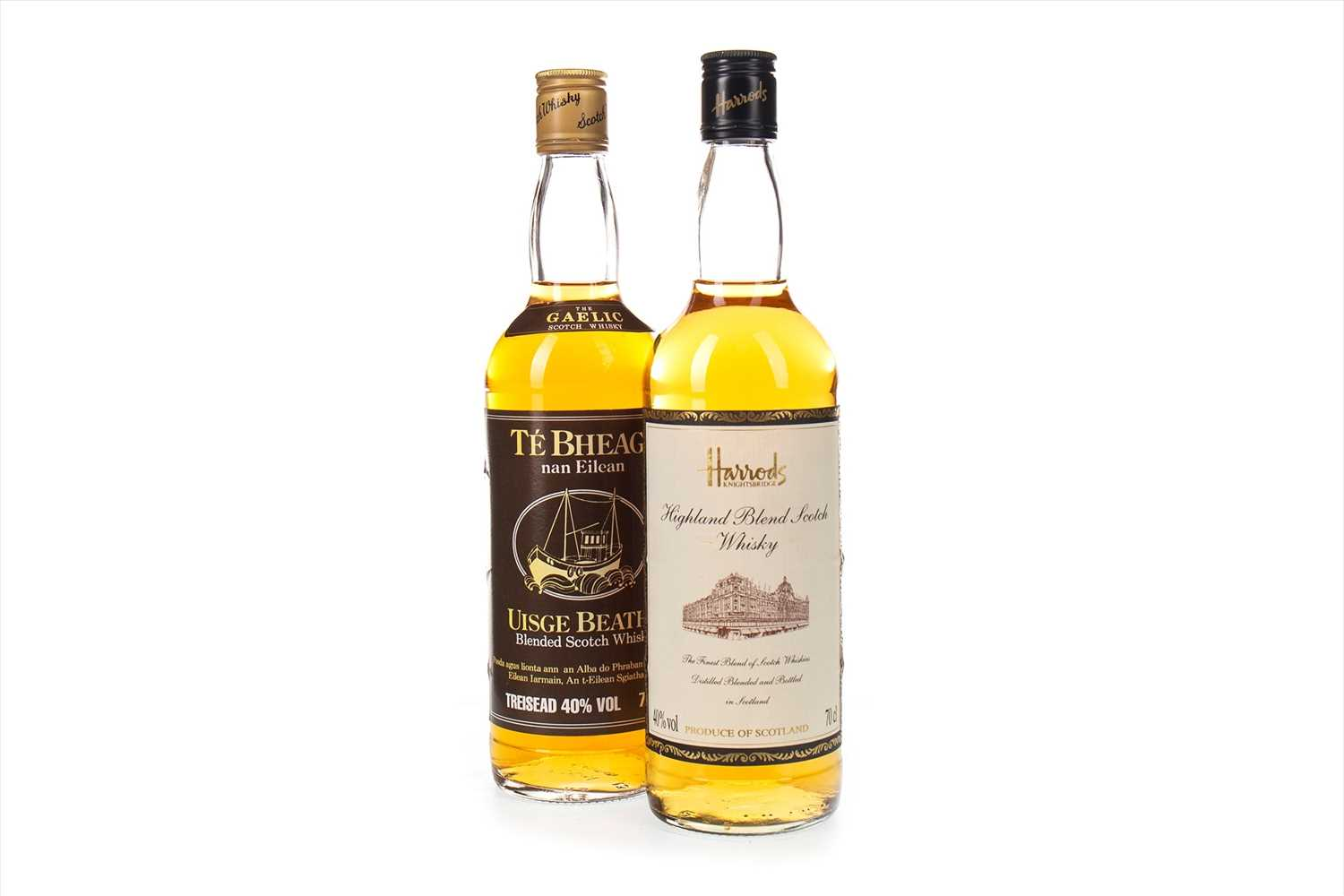 Lot 414-TE BHEAG AND HARRODS HIGHLAND BLEND