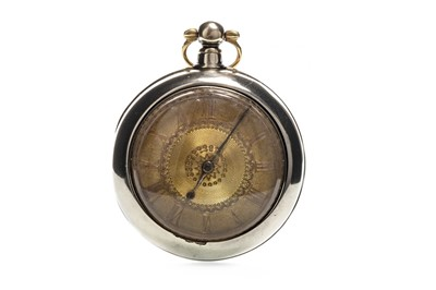 Lot 724-AN OPEN FACE POCKET WATCH