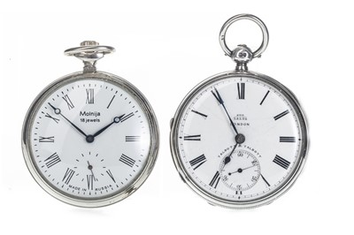 Lot 725 - TWO POCKET WATCHES