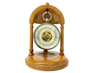 Lot 1137 - AN EARLY 20TH CENTURY FRENCH POCKET BAROMETER