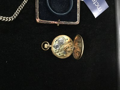 Lot 705-A LADY'S GOLD FOB WATCH