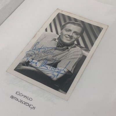 Lot 1626-A COLLECTION OF AUTOGRAPHED PHOTOGRAPHS