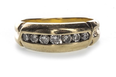 Lot 1315-A GENTLEMAN'S DIAMOND SET BAND