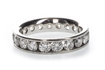 Lot 326-A DIAMOND ETERNITY RING
