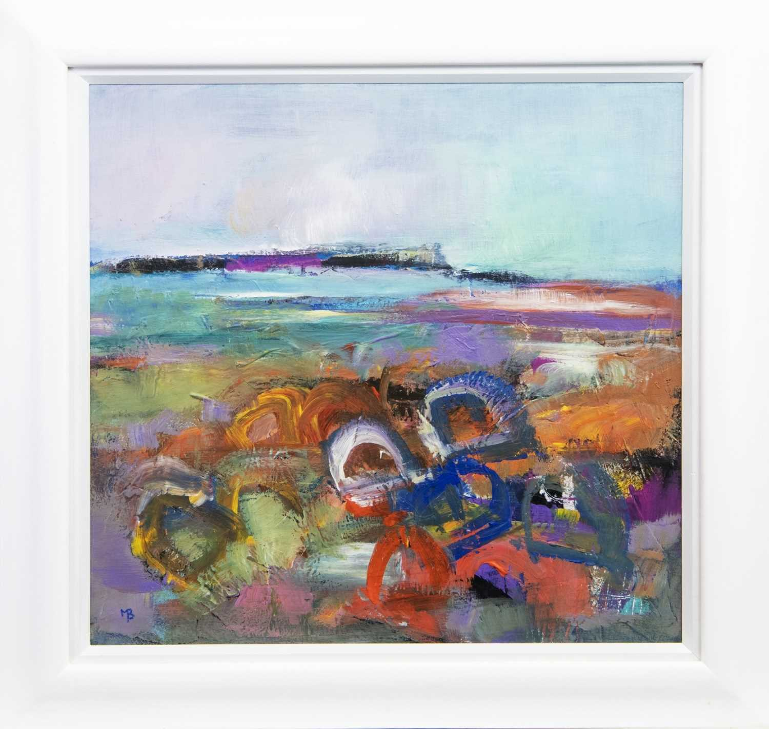 Lot 618-CREELS IN THE SHORE, AN OIL BY MAY BYRNE