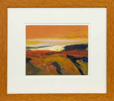 Lot 632-RANNOCH MOOR, AN OIL BY MAY BYRNE