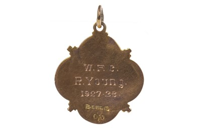 Lot 1714 - AN EARLY 20TH CENTURY MCELROY CUP GOLD MEDAL
