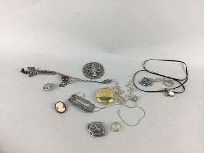 Lot 11-A LOT OF VINTAGE JEWELLERY
