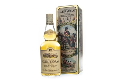 Lot 303-GLEN MORAY 12 YEARS OLD ARYGLL AND SUTHERLAND HIGHLANDERS