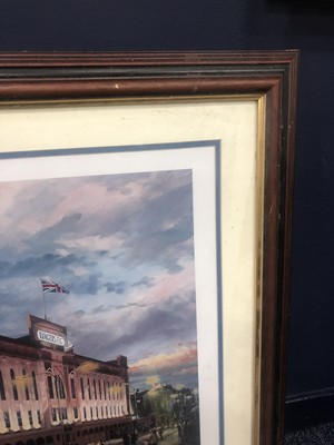 Lot 1719 - SPIRIT OF RANGERS, A SIGNED LIMITED EDITION PRINT BY JOHN M BOYD