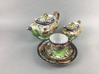 Lot 22-A JAPANESE EXPORT PART COFFEE SERVICE ALONG WITH A PART TEA SERVICE
