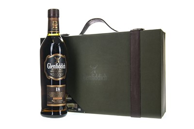 Lot 315-GLENFIDDICH 18 YEARS OLD BRIEFCASE PACK