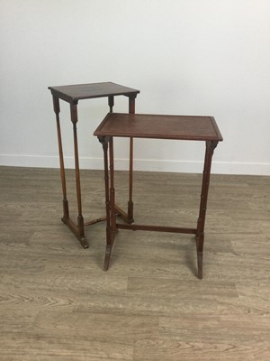 Lot 1212 - TWO OBLONG NEST TABLES
