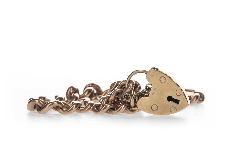 Lot 319-A GOLD BRACELET