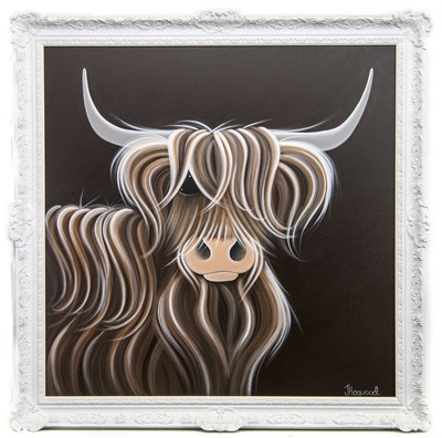 Lot 516-RUBY, AN OIL BY JENNIFER HOGWOOD