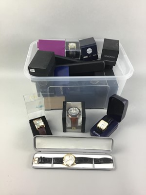 Lot 11-A COLLECTION OF FASHION WATCHES