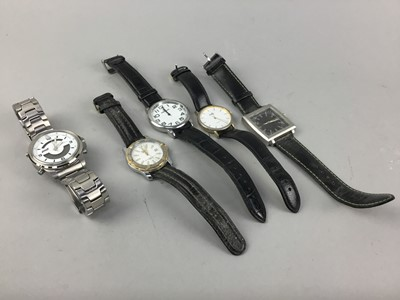Lot 13-A COLLECTION OF FASHION WATCHES